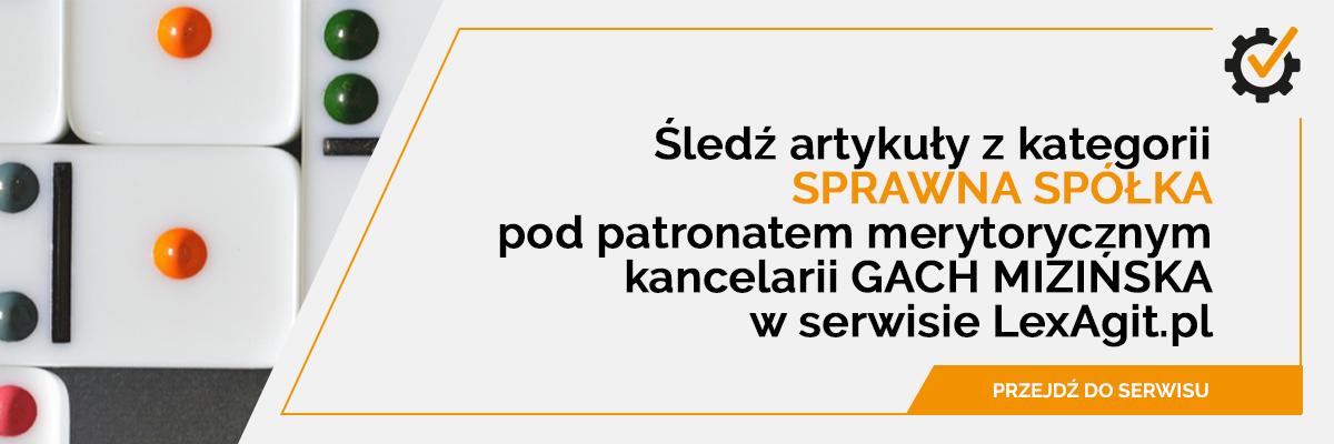 sprawna spółka w LexAgit.pl