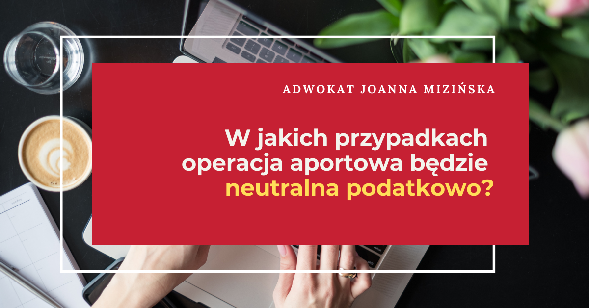 Zasady wnoszenia aportów do spółki z o.o.